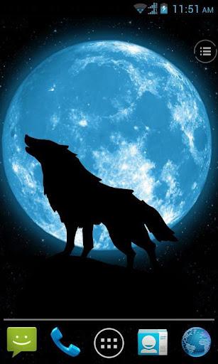 远方的狼动态壁纸