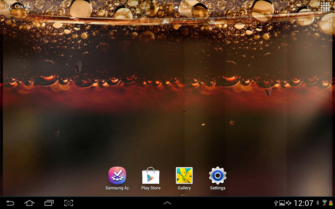 Coke Live Wallpaper - screenshot
