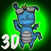 3D Cool Dragon