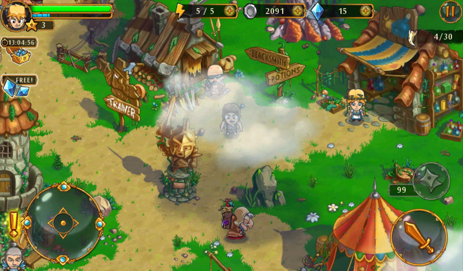 League of Heroes v1.3.363 Apk Unlimited Coins/Gems/Mod - screenshot