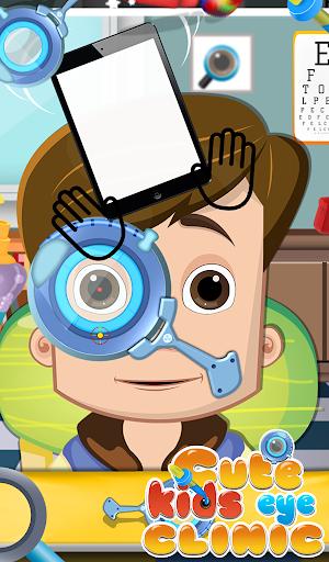可爱的儿童眼科诊所