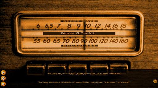 Retrovision Old Time Radio