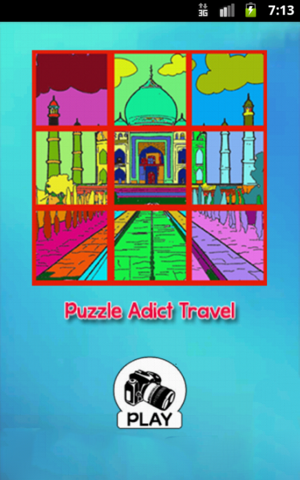 Puzzle Adict Travel - screenshot