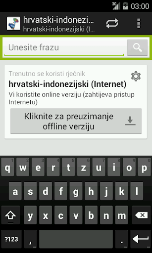 Croatian-Indonesian Dictionary