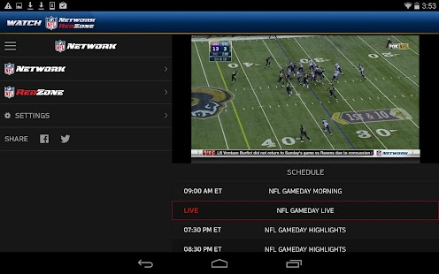 Watch NFL Network- screenshot thumbnail