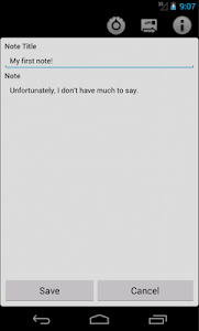 Clear Note Widget Sticky Notes screenshot 4