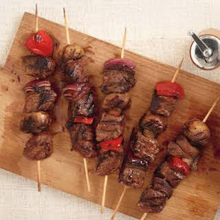 Spiced Steak Kebabs.