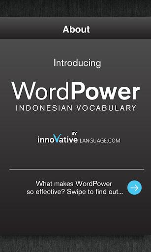 Learn Indonesian WordPower