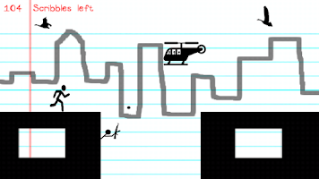Screenshot of Stickman Rooftop Run