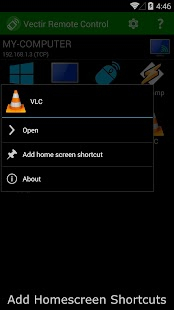 Vectir PC Remote Control- screenshot thumbnail