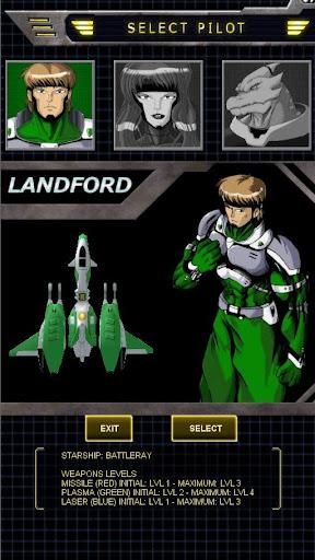 Battleray Starfighter Beta