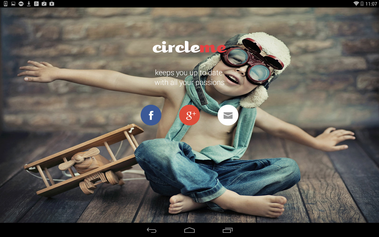 CircleMe: the interest network- screenshot