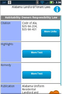 Landlord Tenant Laws Pro - screenshot thumbnail