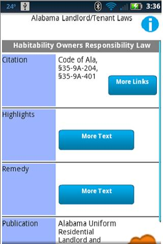 Landlord Tenant Laws Pro- screenshot