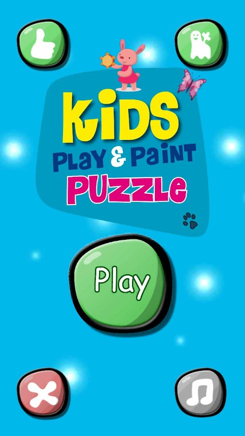 Kids Play Puzzle Paint- screenshot