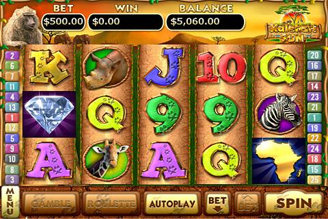 Kalahari Sun Slots- screenshot