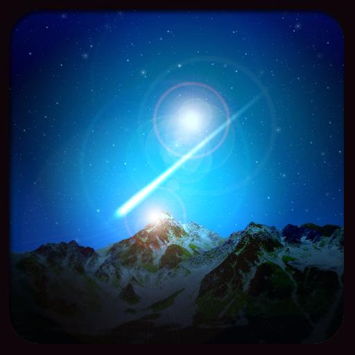个人化のShooting Star LOGO-記事Game