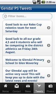 Glendal Primary School- screenshot thumbnail