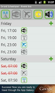 Droid Scheduler screenshot 3