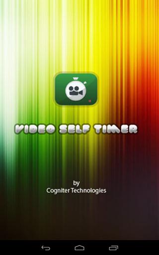 Video Self Timer