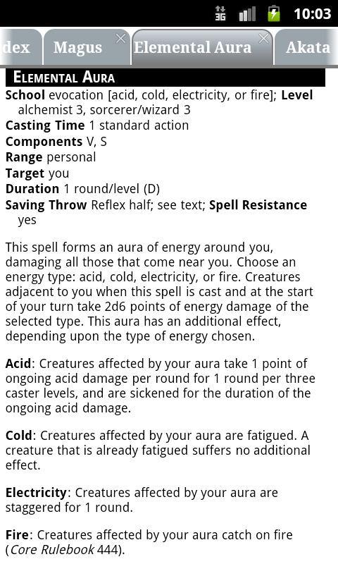 PF RPG Reference Document- screenshot