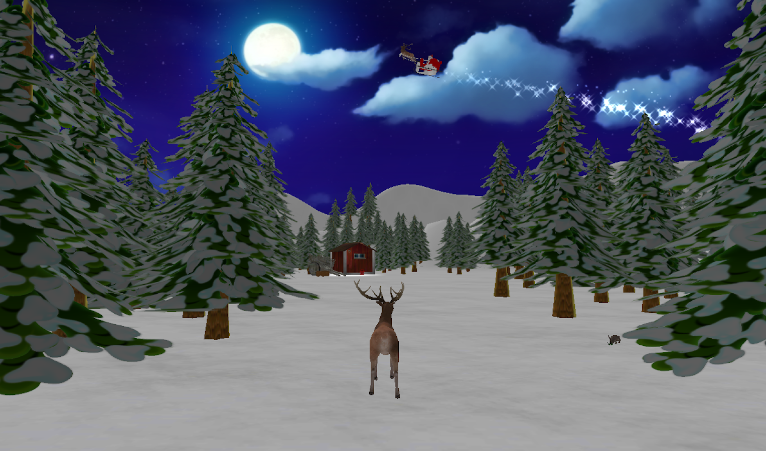 christmas reindeer simulator android apps on google play