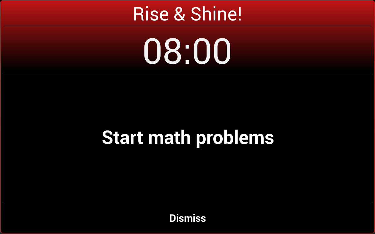 Alarm Clock Xtreme - screenshot