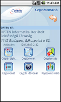 Screenshot of Company Information Light