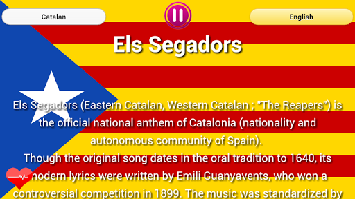 Anthem Catalonia - Barcelona