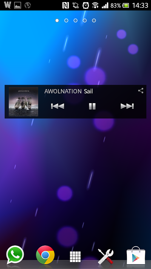 Waves- Music Player BETA - screenshot