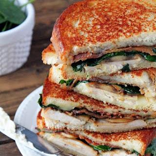 Grilled Turkey Florentine Sandwiches Recipe