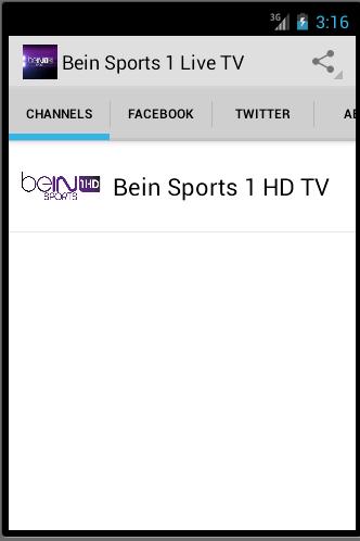 Bein Sports 1 HD Live TV
