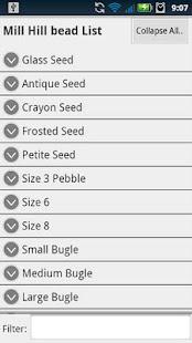 Bead Checklist- screenshot thumbnail