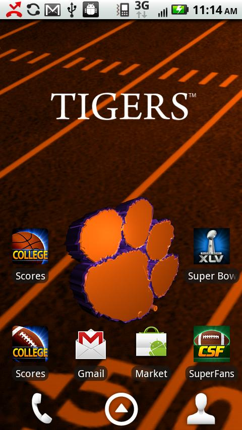 Clemson Live Wallpaper HD - screenshot