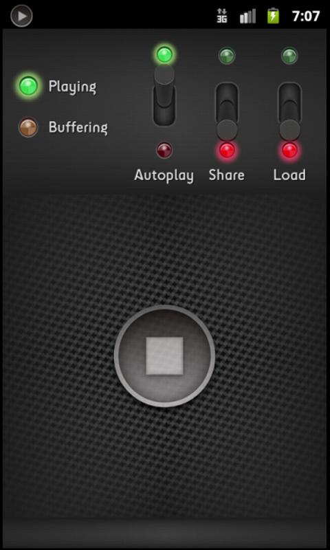Audio Streaming - screenshot