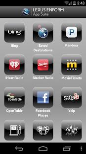 Lexus Enform App Suite- screenshot thumbnail