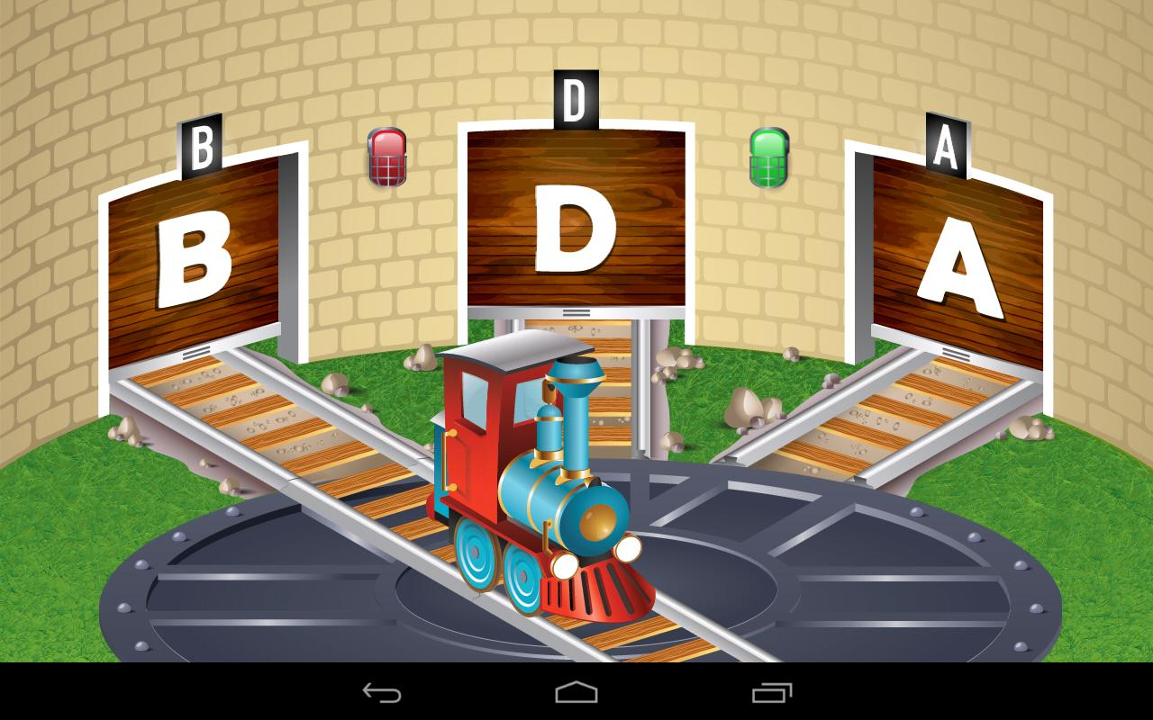 Kids ABC Letter Trains - screenshot