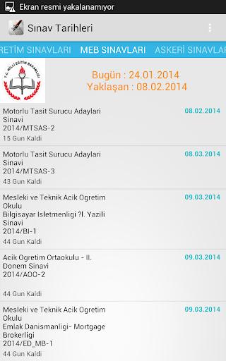 免費下載教育APP|Sınav Tarihleri app開箱文|APP開箱王