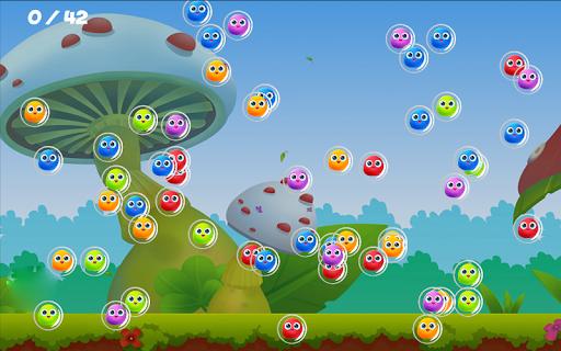 爆炸盡可能多泡沫的可能,引發的連鎖反應!