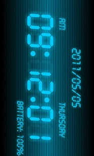 Battery Clock β- screenshot thumbnail