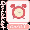 Quickest Alarm & Timer Widget logo