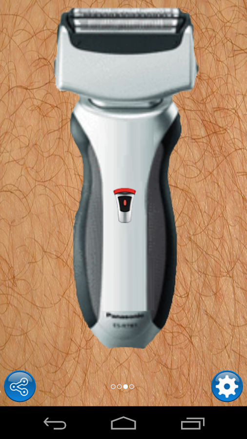Electric shaver - screenshot