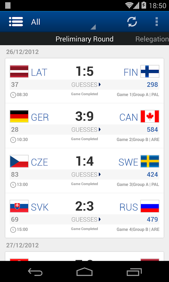2014 IIHF - screenshot