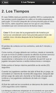 Reglamento de Padel- screenshot thumbnail