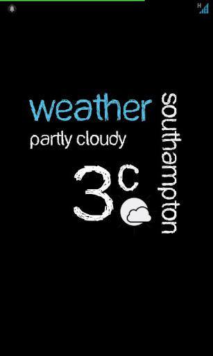 UCCW Weather Skin +