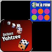 Yahtzee Delux + 3 in a Row