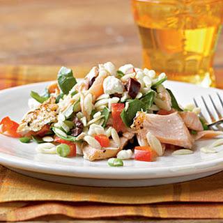 Mediterranean Salmon Salad.