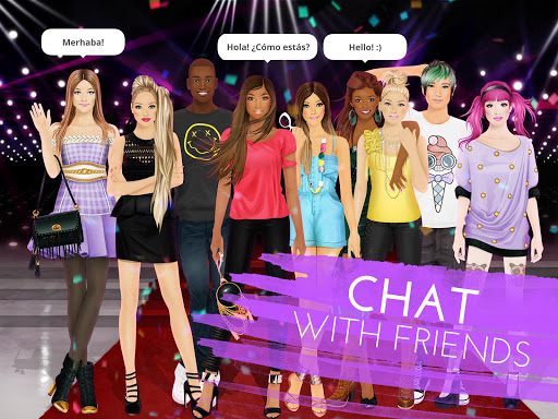 Stardoll Fame Fashion Friends screenshot