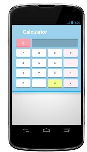 calculator - calculatrice