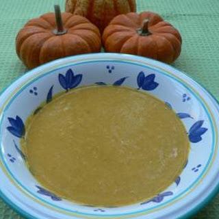 Low Fat Cream of Pumpkin Soup